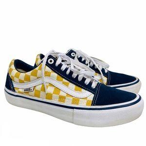 Vans Old Skool Canvas & Suede Ultracush Sneakers